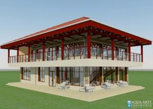 Idejno rešenje restorana kompleksa u Tutinu