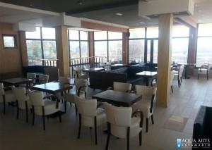 Izveden enterijer restorana kompleksa u Tutinu