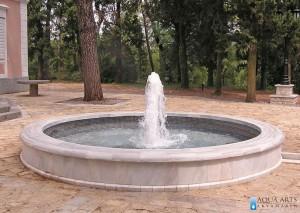 Fontana u kompleksu dvorca kralja Nikole - Podgorica