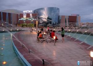 Javna fontana Aktau - Kazakstan
