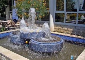 Fontana u eksterijeru preduzeća Žitopromet