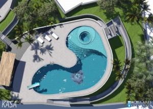 4.Glavni projekat bazenske tehnike privatnog bazena u Ruskoj vili u Herceg Novom, 2014.