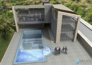 3.Pogled iz vazduha na Centar i bazen za obuku ronilaca