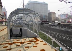 5.Idejno rešenje nadstrešnice podzemnog prolaza na Slaviji