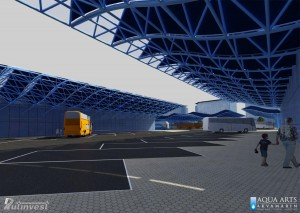 3.Prikaz perona Autobuske stanice