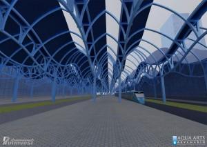 4.Idejno rešenje Železničke stanice u Staničnom Kompleksu na Novom Beogradu