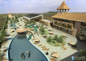 4.Idejno rešenje - pogled na Turistički Kompleks u Surduku