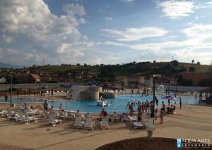 2.Izvedeni Kompleks bazena u Tutinu po našim projektima, prva sezona rada