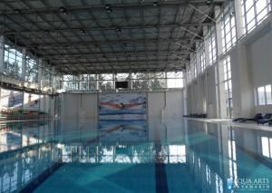 2.Zatvoreni olimpisjki bazen sa plivačkim trakama u Sportskom centru u Mingečauru, Azerbejdžan