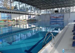 3.Isporuka i montaža opreme za olimpisjki bazen u Mingečauru u Azerbejdžanu