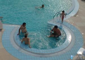 4.Hidromasažna kada u hotelskom bazenu, Villa Breg, Vršac