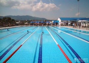 1.Otvoreni olimpijski bazen u Loznici, montaža bazenske opreme