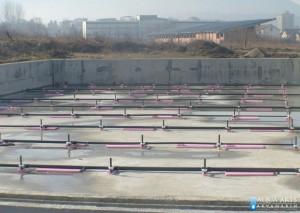 5.Proces montaže opreme u betonsku ploču bazena, instalacije i delovi, Loznica