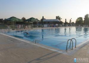 1.Otvoreni sportski bazen u Magliću, isporuka opreme i montaža