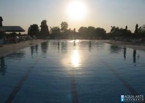 2.Plivački bazen sa trakama za plivanje u Magliću