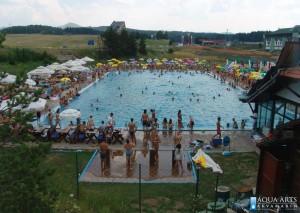4.Olimpijski bazen za vreme rekreativne upotrebe u okviru hotela Olimp na Zlatiboru