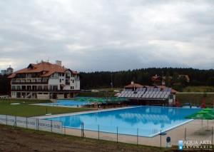 5.Pogled na kompleks bazena i Hotel Olimp na Zlatiboru