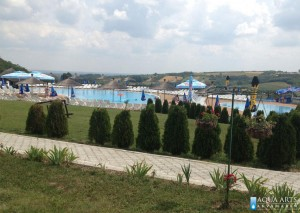 2.Kompleks bazena u Orašcu - rekreativni i dečiji bazen sa vodenim atrakcijama
