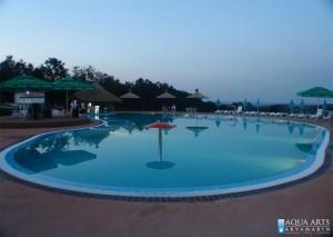 8.Rekreativni bazen u Orašcu, noću