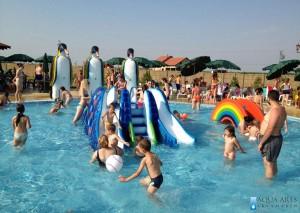 5.Projektovanje malih tobogana i atrakcija za decu u bazenima u Staroj Pazovi