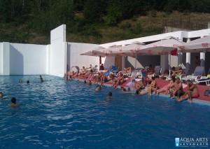 3.Rekreativni bazen sa hidromsažnim tuševima u Pribojskoj Banji
