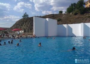 4.Rekreativni bazen oko 600 m² dubine 1,60m u Pribojskoj Banji