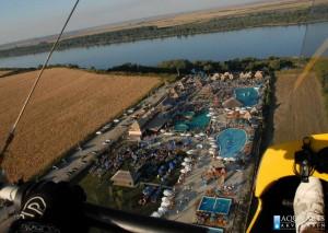 10.Pogled iz vazduha na Turistički kompleks sa bazenima u Surduku