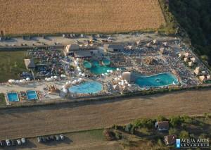 2.Izvedena prva faza radova po projektu, danas postao veoma posećen i poznat bazenski centar