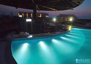 6.Šank u vodi u Surduku gde se organizuju noćne žurke na bazenima