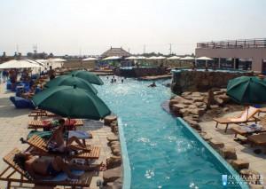 9.Proplivni kanaz između rekreativnog i kamenog bazena u Surduku