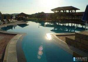 2.Rekreativni bazen u okviru SPA kompleksa, ulaz u bazen iz hotela