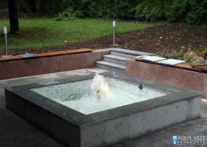 1.Isporuka i montaza opreme fontane u rezidenciji ambasade Konga u Beogradu