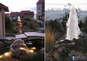 3.Isporuka i montaža opreme za fontane u privatnoj kući u Beogradu