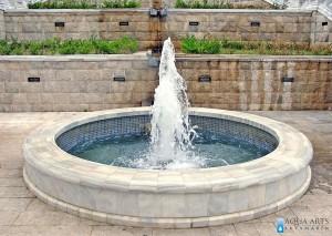 2.Donja fontana - gejzir u okviru kompleksa Dvorca Kralja Nikole u Podgorici