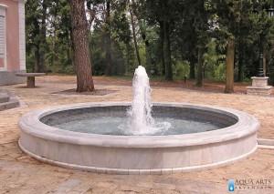 3.Gornja fontana - gejzir u okviru kompleksa Dvorca Kralja Nikole, Podgorica