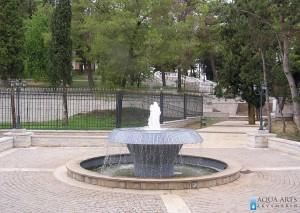 4.Prelivna fontana u okviru kompleksa Dvorca Kralja Nikole u Podgorici