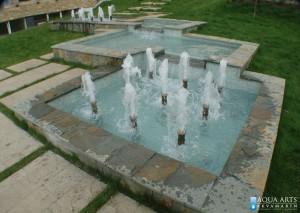 3.Gjeziri i prelivi u spoljnoj fontani, Jugoinspekt, Beograd