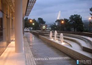 1.Fontana ispred Agencije za izgradnju Podgorice, Isporuka i montaža opreme za fontane, 2005.
