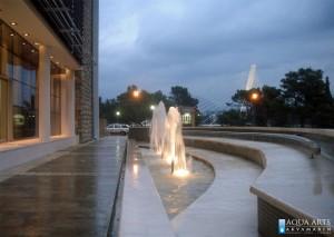 2.Detalj fontane ispred Agencije za izgradnju Podgorice, Isporuka i montaža opreme za fontane, 2005.
