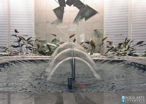 4.Detalj fontane u Direkciji javnih prihoda u Podgorici, Isporuka i montaža opreme za fontane, 2001.