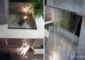 7. Detalj fontane u enterijeru kompanije Hemofarm u Beogradu, Isporuka i montaža opreme za fontane, 1995.