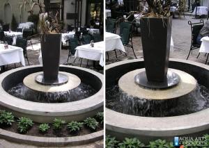 4.Fontana u restoranu Madera u Beogradu, Isporuka i montaža opreme za fontane, 2002.
