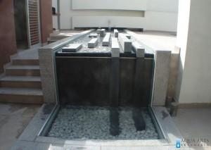 2.Fontana u ektrijeru privatne kuce u Zemunu