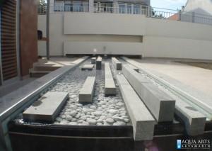 3.Detalj fontane u dvorištu privatne kuce, Zemun
