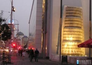 11.Fontana ispred Jugoslovenskog Dramskog Pozorišta, isporuka i montaža opreme rasvete