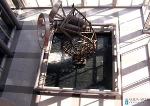 16.Fontana u holu Jugoslovenskog Dramskog Pozorišta, projektovanje, isporuka i montaža opreme