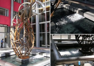 17.Fontana u holu Jugoslovenskog Dramskog Pozorišta, projektovanje, isporuka i montaža opreme