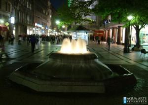 18.Gradska Fontana u Knez Mihajlovoj ulici, isporuka i montaža rasvete za fontanu