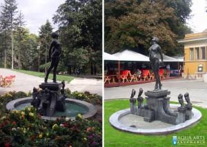 27.Fontana ispred Paviljona Cvijete Zuzorić, Kalemegdan, Beograd, izrada sistema fontane, oprema za fontanu