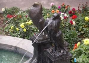 28.Fontana ispred Paviljona Cvijete Zuzorić, Kalemegdan, Beograd, izrada sistema fontane, oprema za fontanu